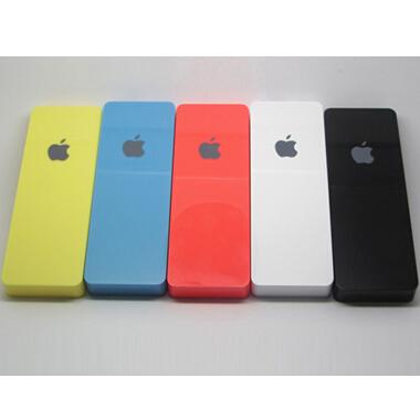 苹果条超薄聚合物3000毫安移动电源